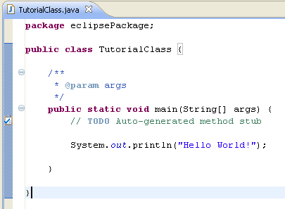 Beginners Eclipse Tutorial  How to run first java application on